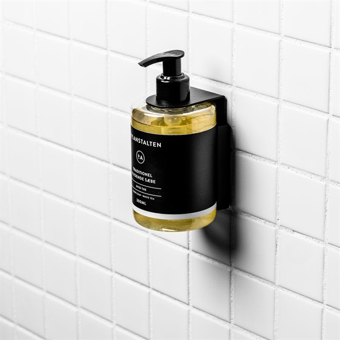 Liquid Soap Wall Mount (Black)